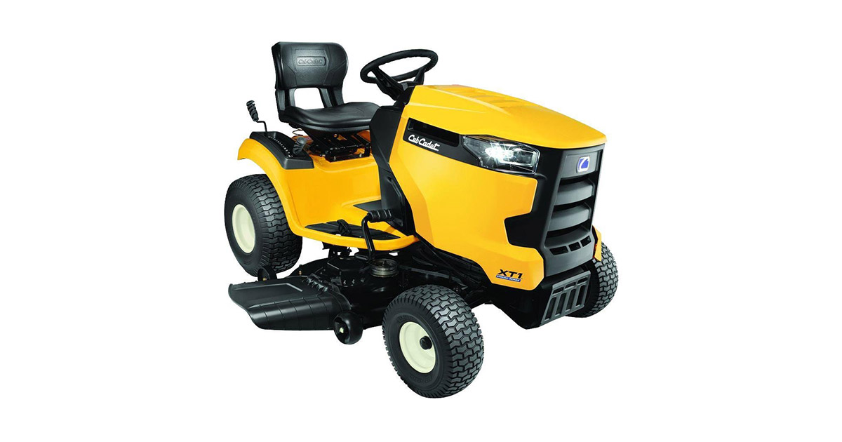Cub Cadet XT1Lt 42-Inches 18 Hp Enduro Series Kohler Hydrostatic Gas Front Engine Riding Mower image