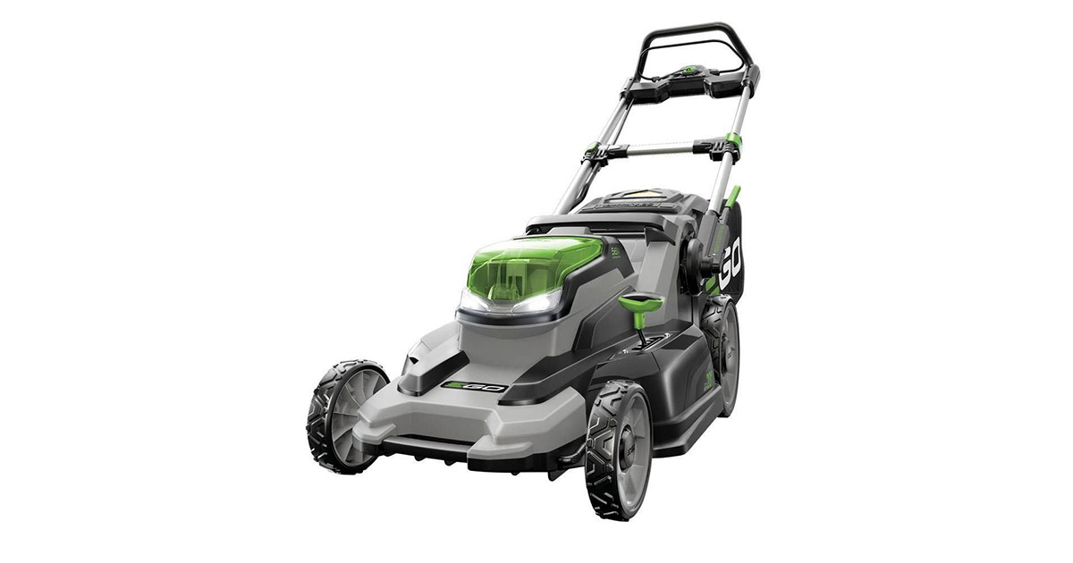 EGO Power LM2000S 20-Inch 56Volt Lithium ion Cordless Walk Behind Lawn Mower image