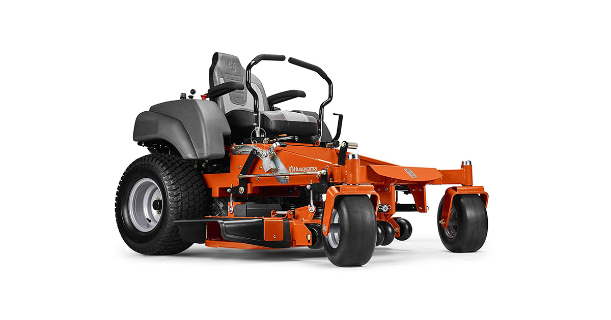 Husqvarna 967277501 MZ61 61 inches 27 HP Briggs   Stratton Hydrostatic Zero Turn Riding Mower image