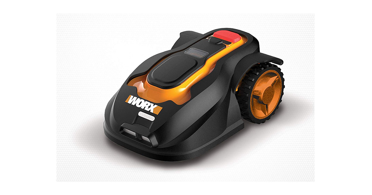 WORX WG794 Landroid Pre-Programmed Robotic Lawn Mower image