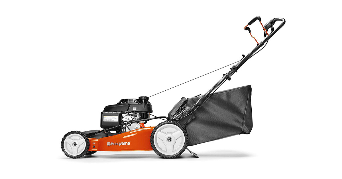 Husqvarna 961450023 HU700H Honda 160cc 3-in-1 Rear Wheel Drive Hi Wheel Mower in 22-Inch Deck image