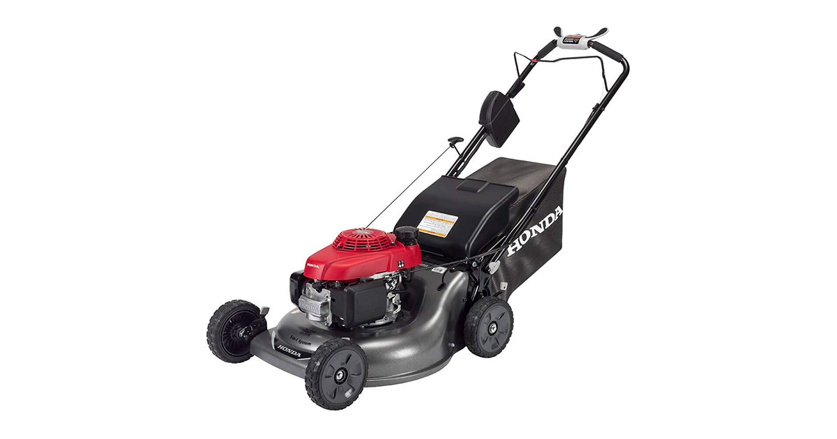 Honda HRR216VYA 21-inches 3-in-1 Self Propelled Smart Drive Roto stop Lawn Mower image