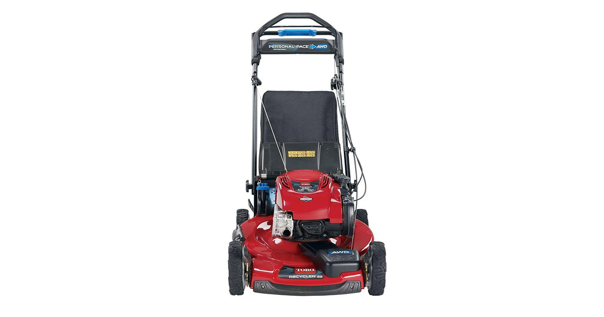 Recycler Personal Pace 22-inches All Wheel Drive Variable Speed Self Propelled Gas Lawn Mower image