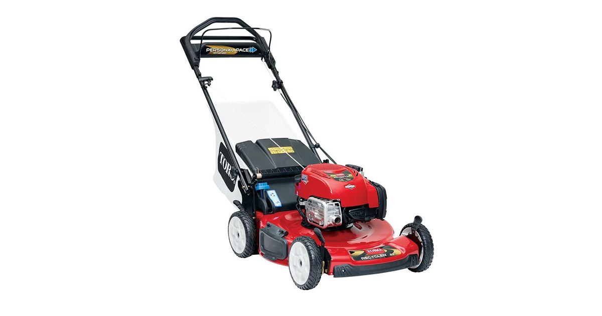 TORO 20332 22inches Personal Pace Recycler lawn mower image