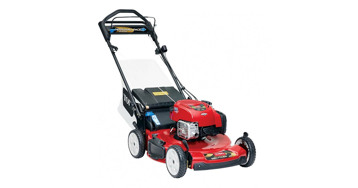 Toro 20333 Recycler 22 inches 190cc Personal Pace Lawn Mower image