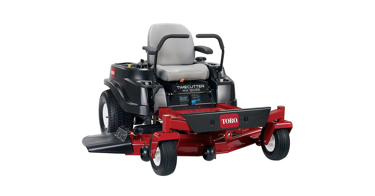 Toucan City Toro TimeCutter MX5025 50-inches Fab 23 HP Kawasaki V Twin Gas Zero Turn Riding Mower image