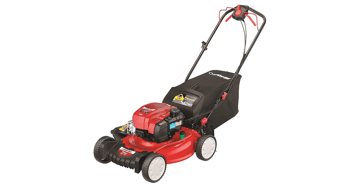 Troy Bilt TB330 163cc 21-inch 3-in-1 Rear Wheel Drive Self Propelled Lawnmower image