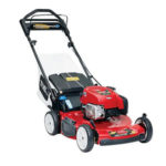 Gas-powered lawn mowers image