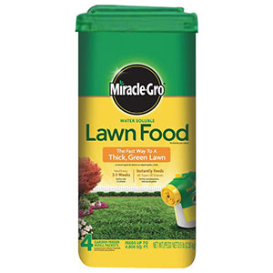 Miracle-Gro all purpose lawn food image
