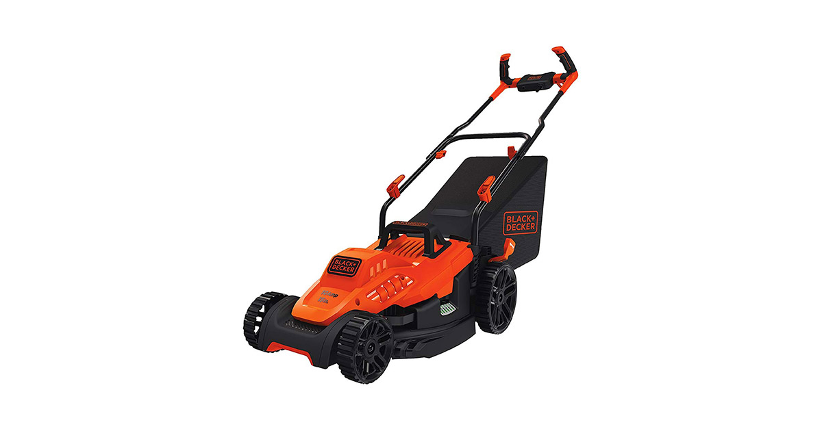 BLACKDECKER BEMW472BH 10 Amp 15inches Electric Lawn Mower image