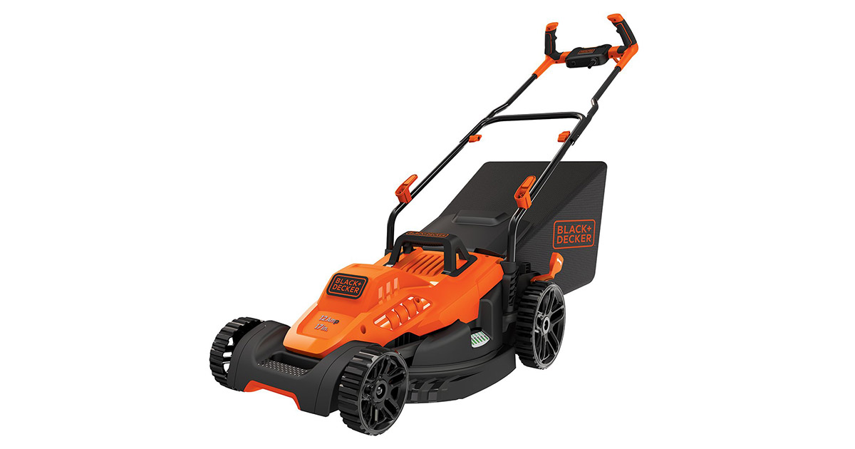 BLACKDECKER BEMW482BH Electric Lawn Mower image