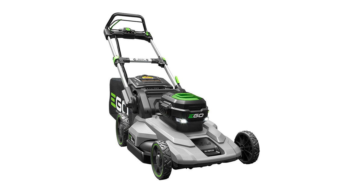 EGO 21-inches 56Volt Lithium Ion Cordless Self Propelled Lawn Mower image