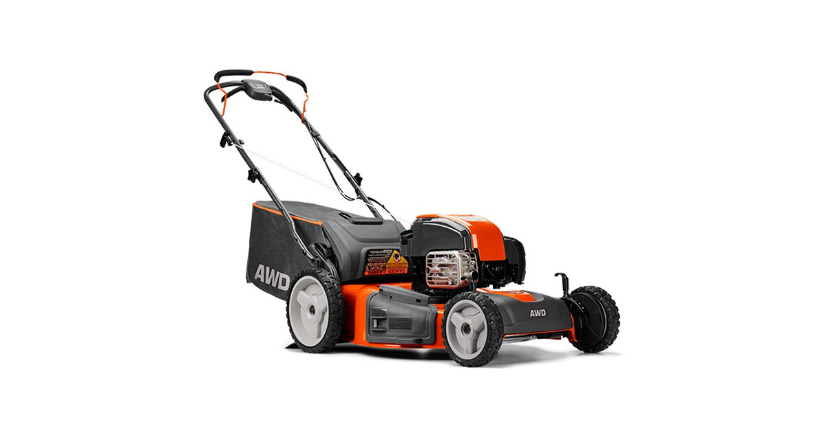 Husqvarna 22 Inch Self Propelled Gas Lawn Mower with Briggs   Stratton Engine image