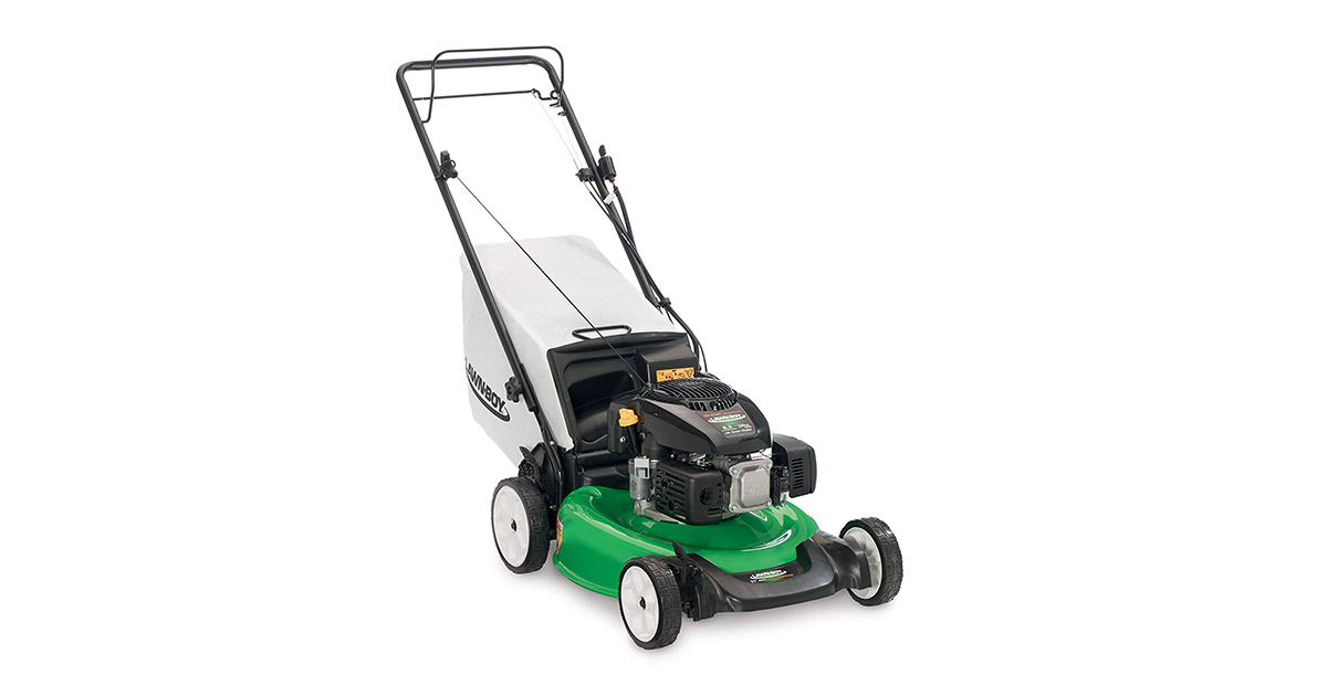 Lawn Boy 17734 21-Inch 6.5 Gross Torque Kohler Electric Start XTXOHV 3-in-1 Discharge Self Propelled Lawn Mower image