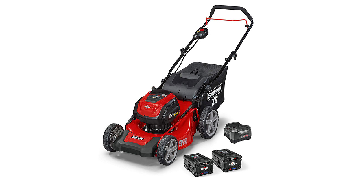 Snapper 1687915 XD82V MAX Electric Cordless 19-Inch Lawnmower image