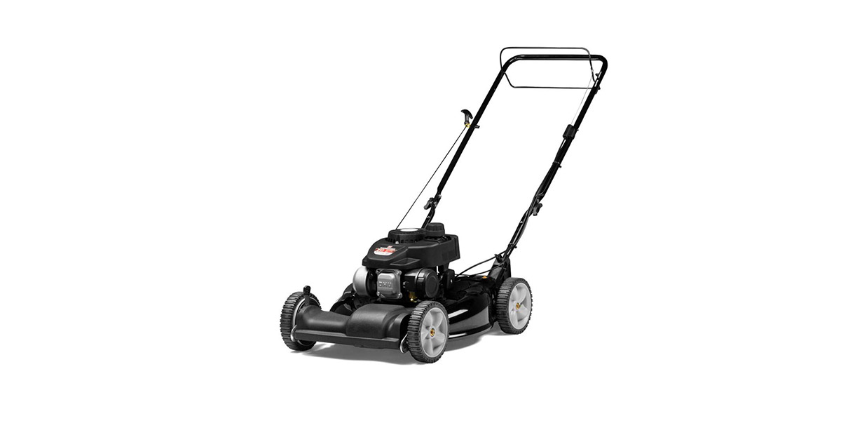 Yard Machines 12B A0SD700 140cc 21-Inch 2-in-1 Self Propelled FWD Gas Powered Lawn Mower image