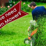 Why We Need a Lawn Mower image
