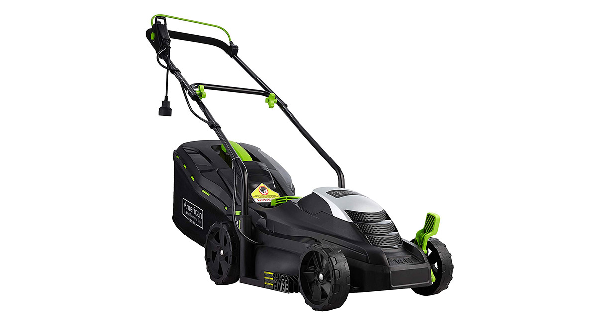 American Lawn Mower Company 50514 14-Inch 11-Amp Corded Electric Lawn Mower image