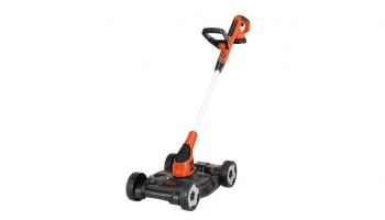 Black Decker MTC220 20V Max Lithium Lawn Mower – Switches between Mower or Edger or Trimmer easily!