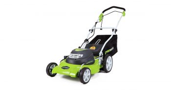 GreenWorks 25022 20-Inch 12 Amp Corded Electric 20 inch Lawn Mower image