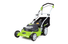 Greenworks 25022 12 Amp Corded 20-inch Lawn Mower – Ideal for Small Yards