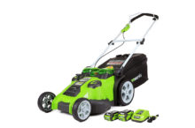 Greenworks 20-Inch 40V Twin Force Cordless Lawn Mower 25302 – Ensures a longer run-time!