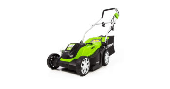 Greenworks MO09B01 14-Inch 9 Amp Corded Electric Lawn Mower image