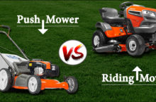 Which to choose between Push Mower & Riding Mower
