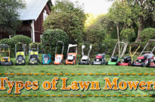 Lawn Mower Types – What is the purpose of each type?